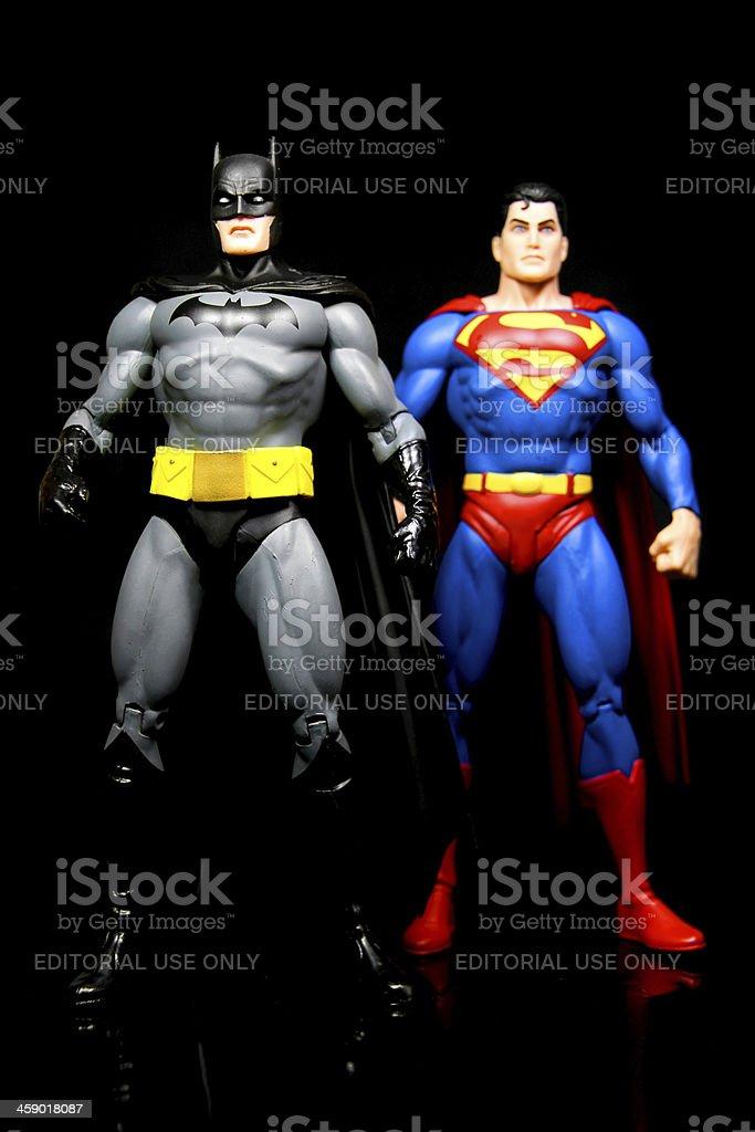 Heroic Duo royalty-free stock photo