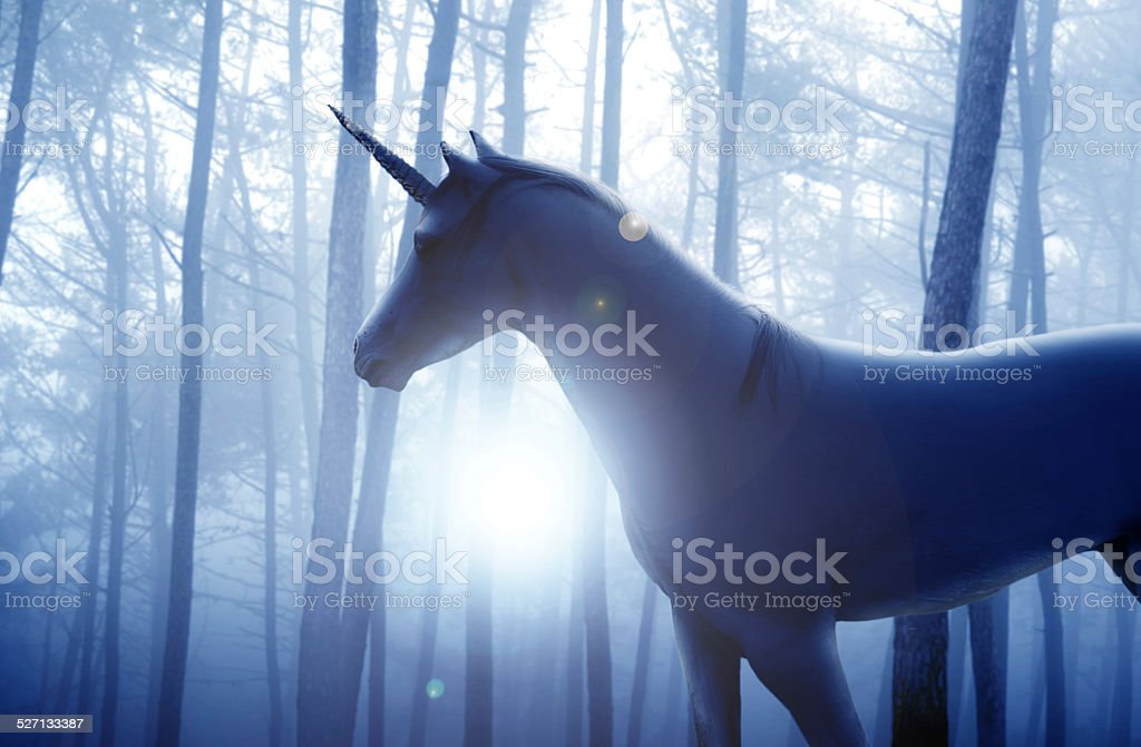 Heroic steed stock photo