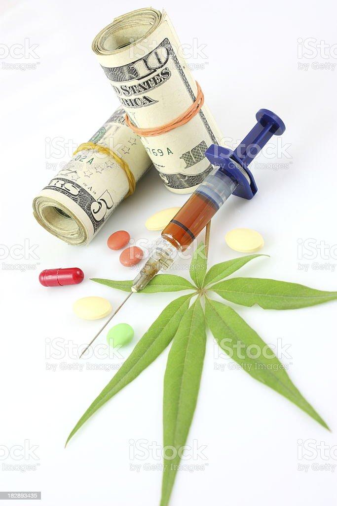Heroin addiction royalty-free stock photo