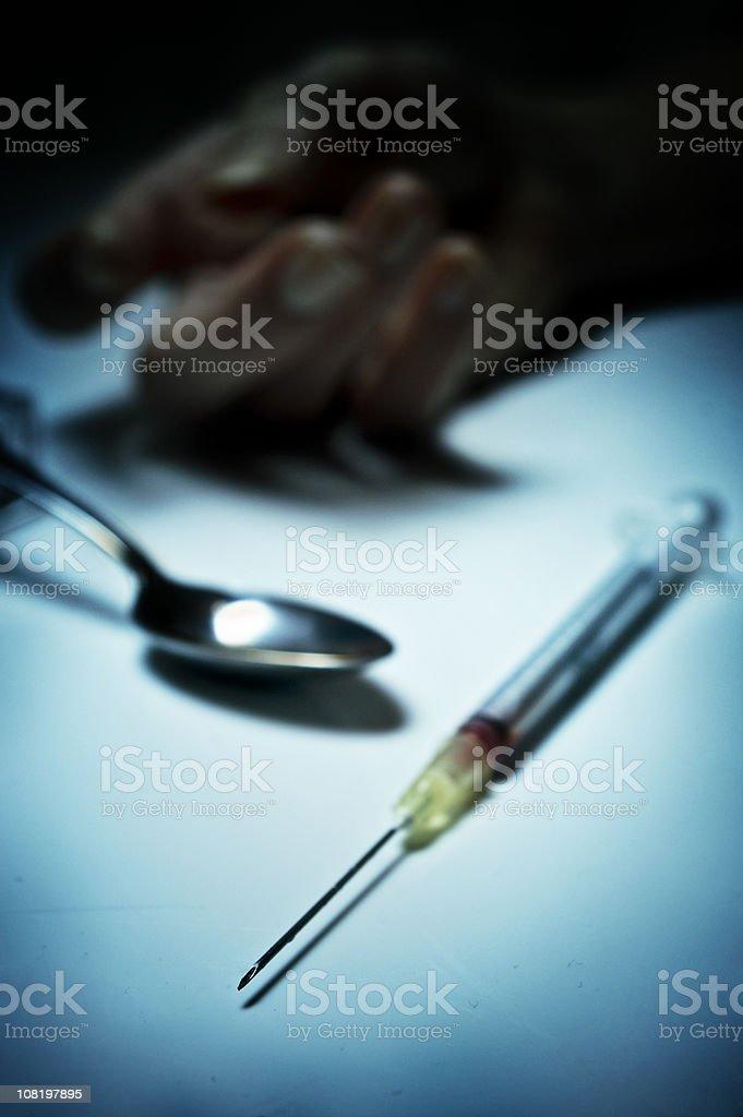 heroin royalty-free stock photo