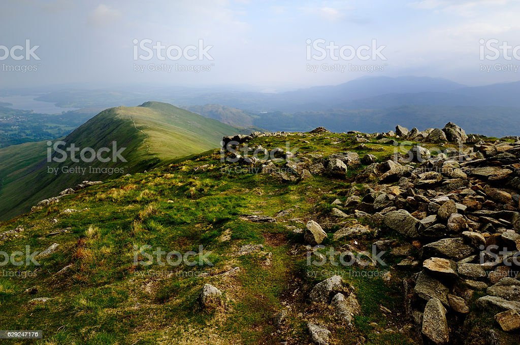 Heron Pike from Great Rigg stock photo