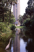 Heron pond protected area park Bok Towers central Florida