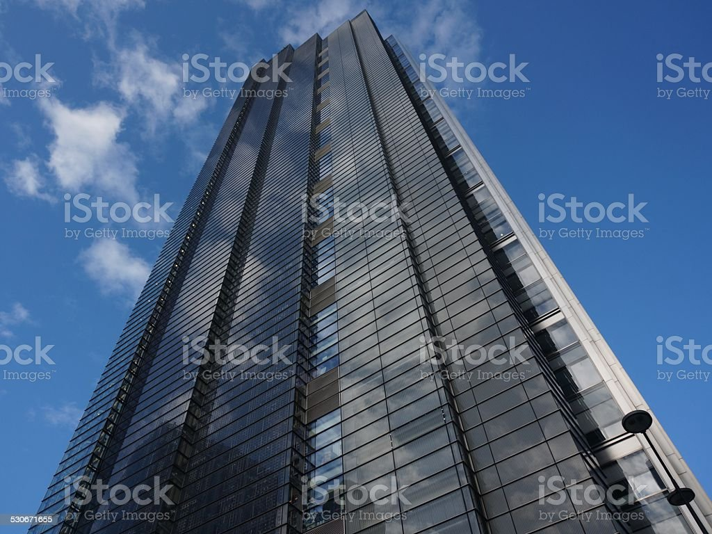 Heron Tower, London stock photo