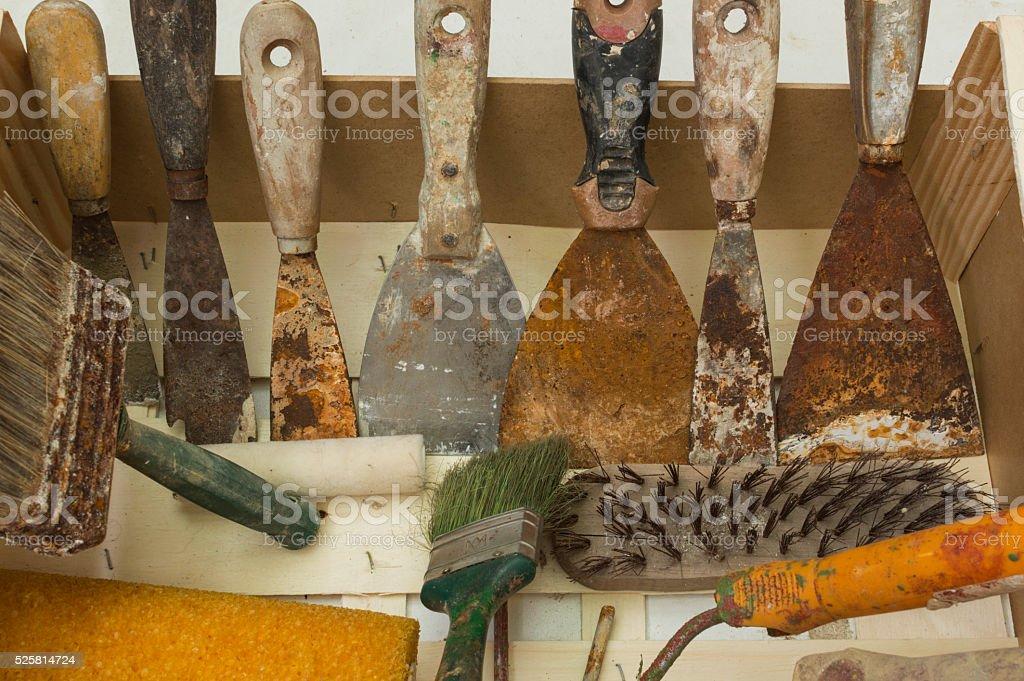 Herramientas de Pintor photo libre de droits
