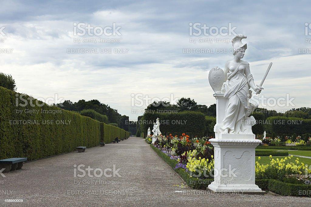 Herrenhausen Gardens royalty-free stock photo