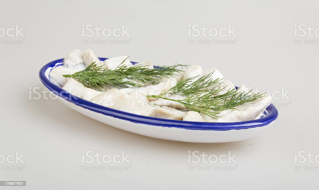 Herring Filet royalty-free stock photo