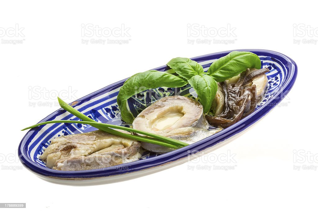 Herring fillet royalty-free stock photo