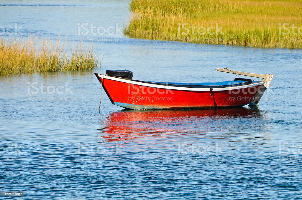 Herring River Dory stock photo