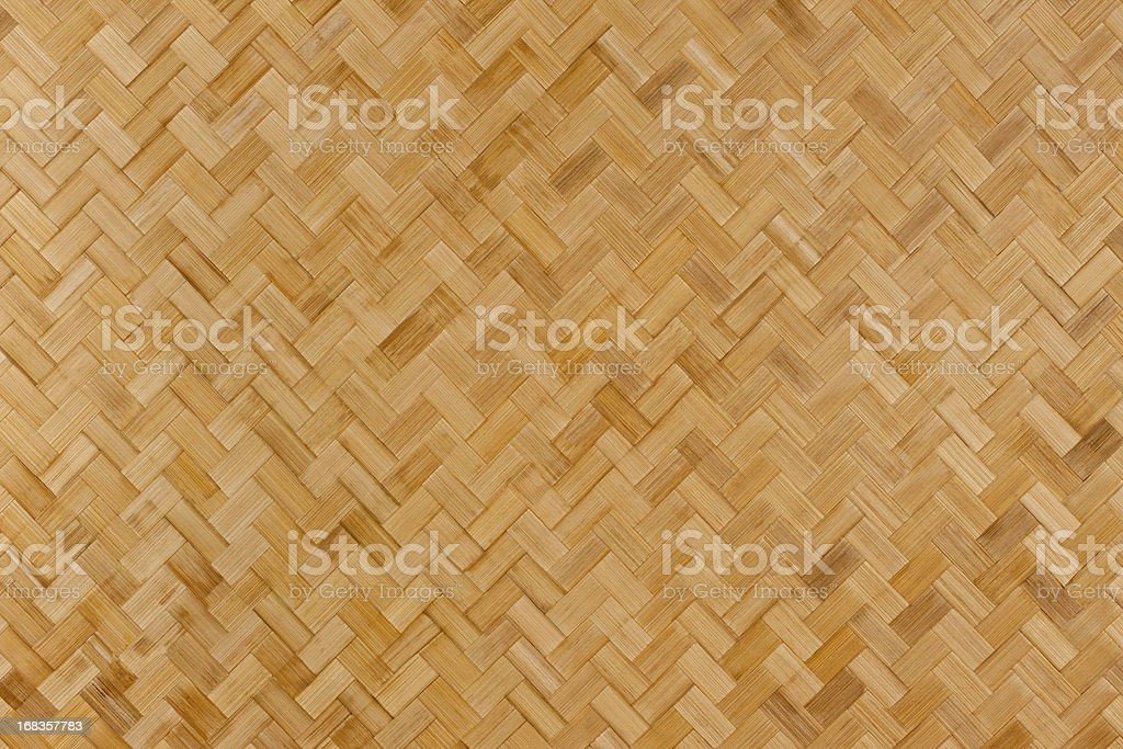 Herring-bone bamboo background. royalty-free stock photo