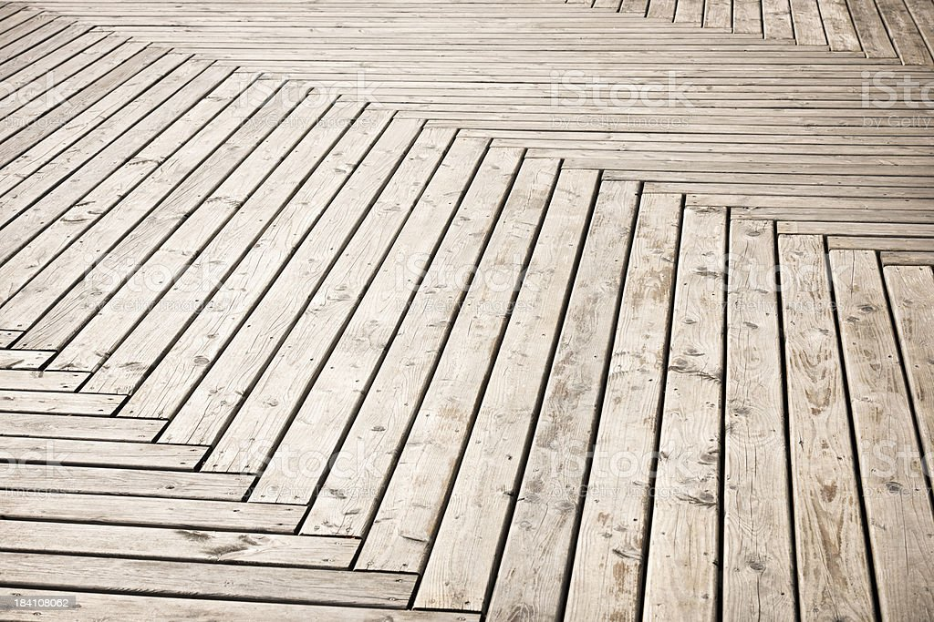 Herringbone Pattern Deck Background royalty-free stock photo