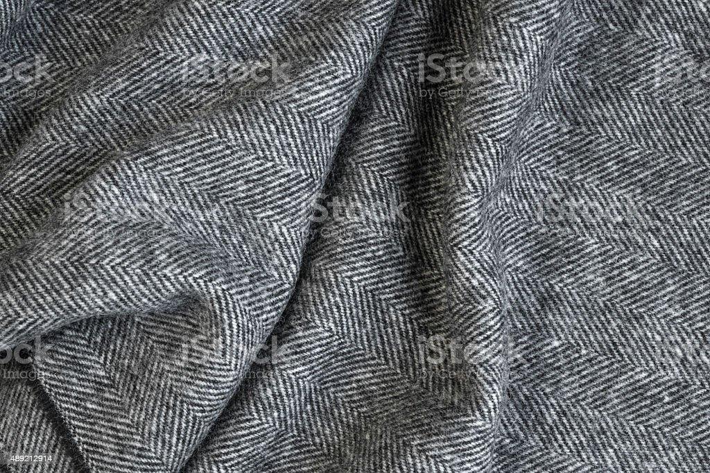 Herringbone tweed background stock photo