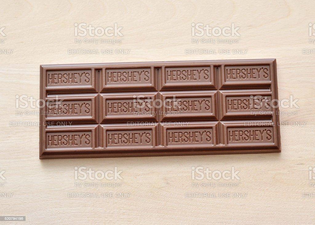 Hershey Chocolate stock photo