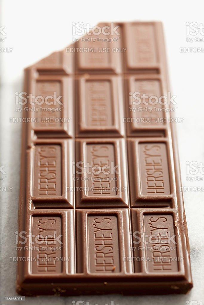 Hershey's Chocolate Bar stock photo