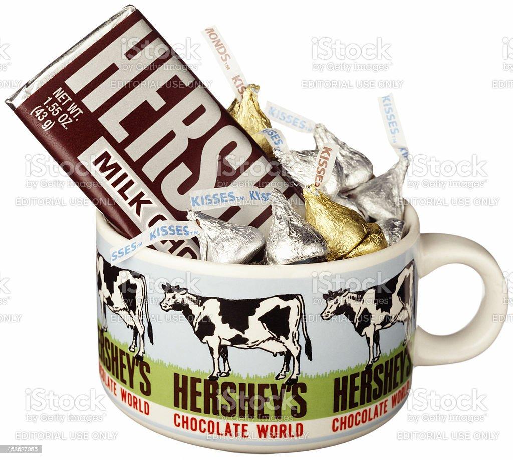 Hershey's chocolate stock photo