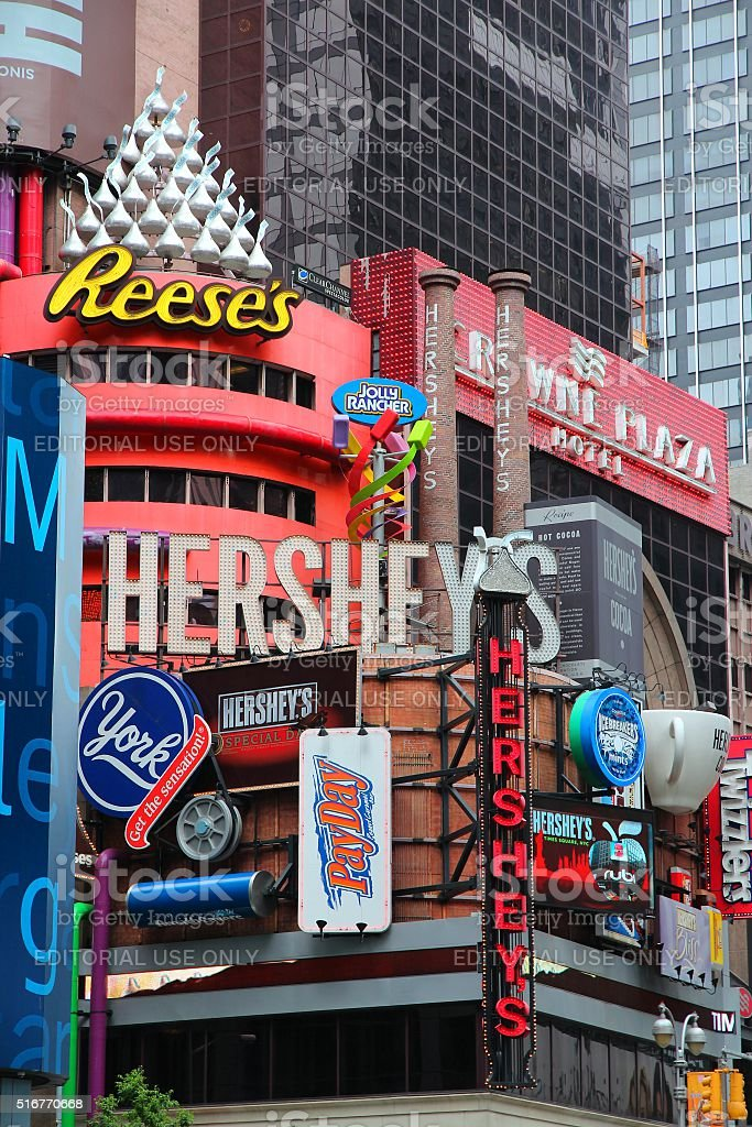 Hershey's stock photo