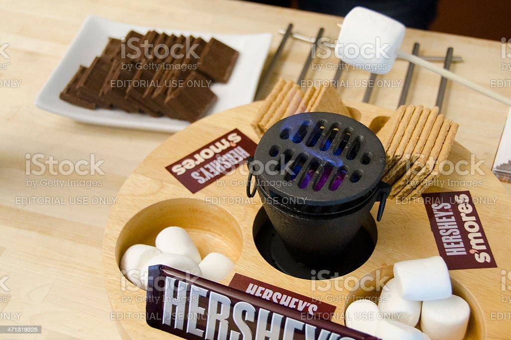 Hersheys Smores stock photo