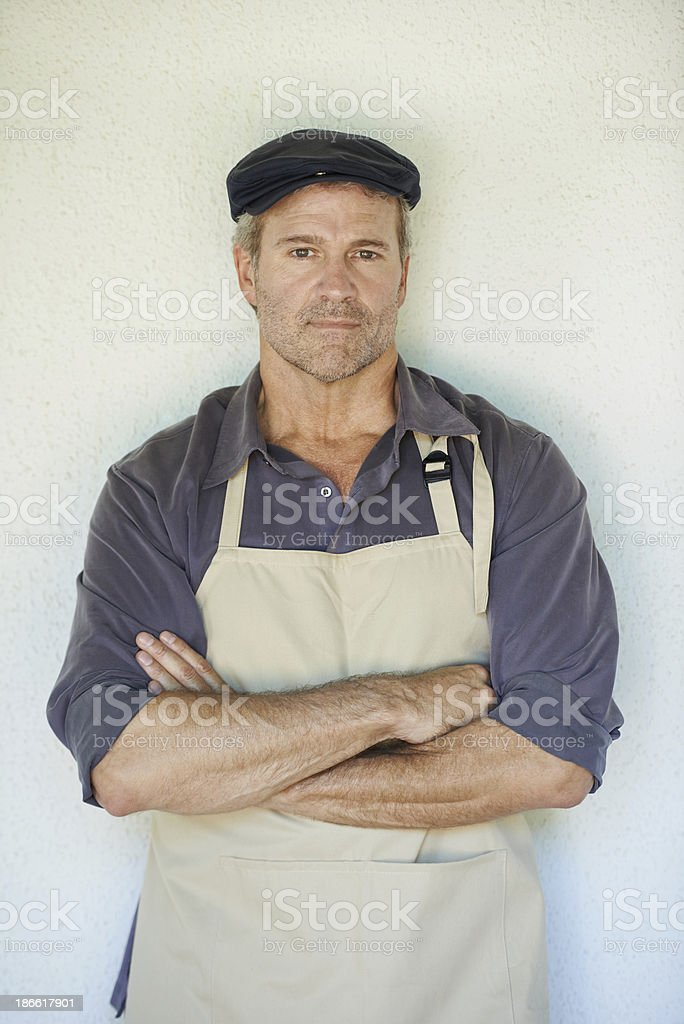He's a great farmer royalty-free stock photo