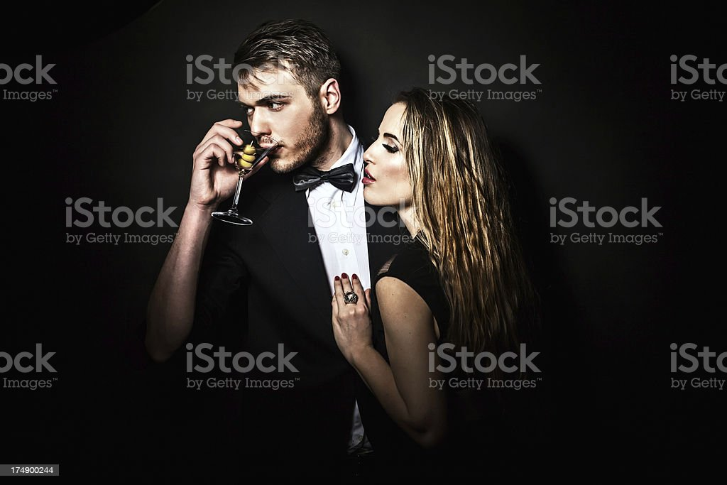 He's a Ladies Man royalty-free stock photo