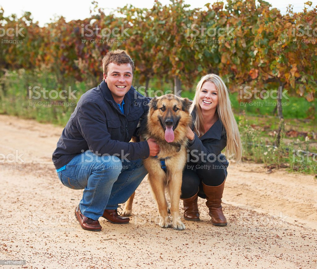 He's a member of their family stock photo
