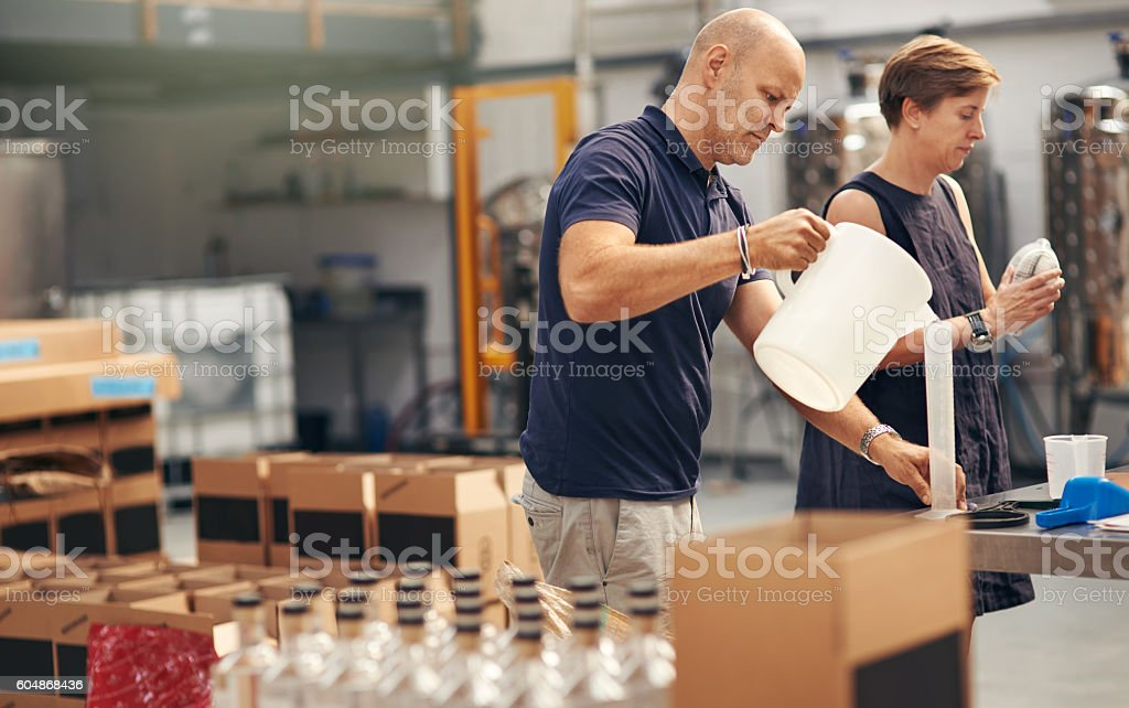 He's a perfectionist when it comes to quality stock photo