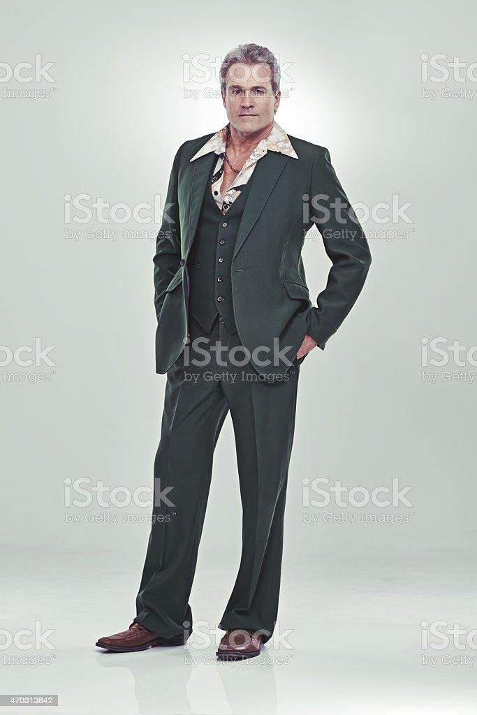 He's a show biz bigshot stock photo