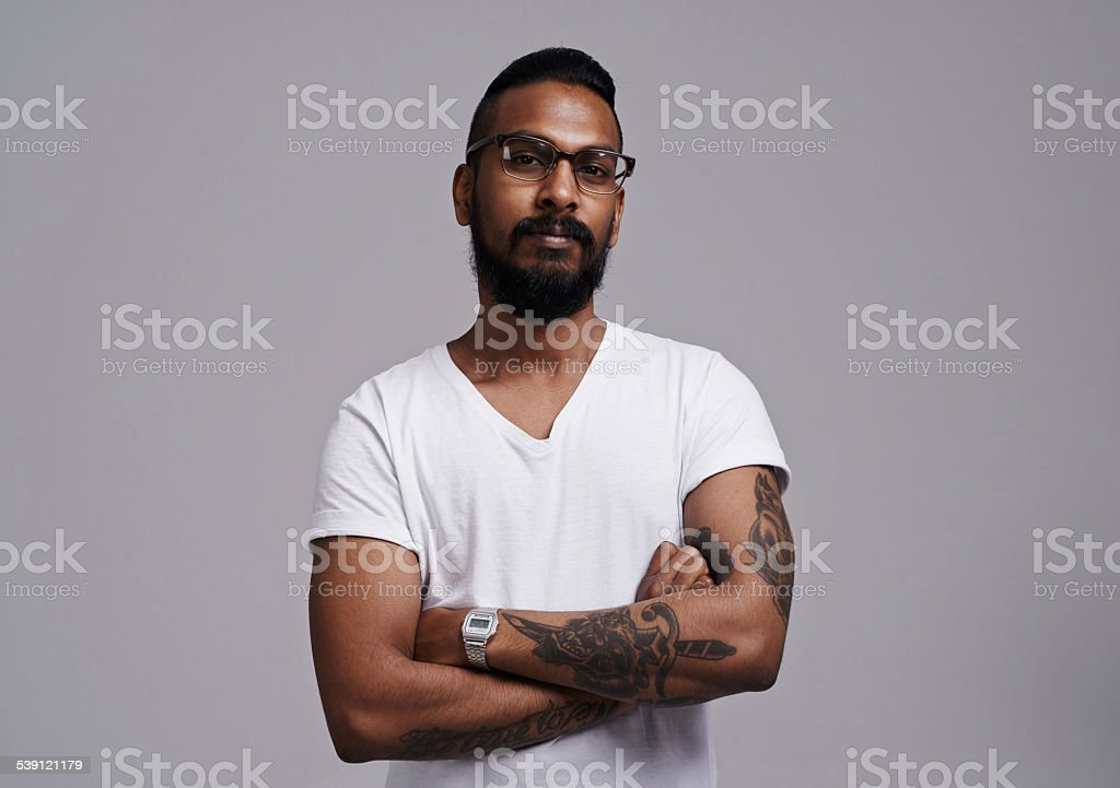 He's an individual stock photo