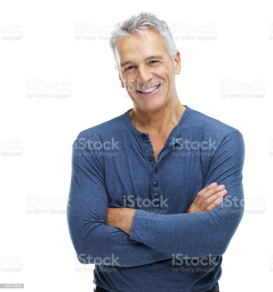 He's at his peak stock photo