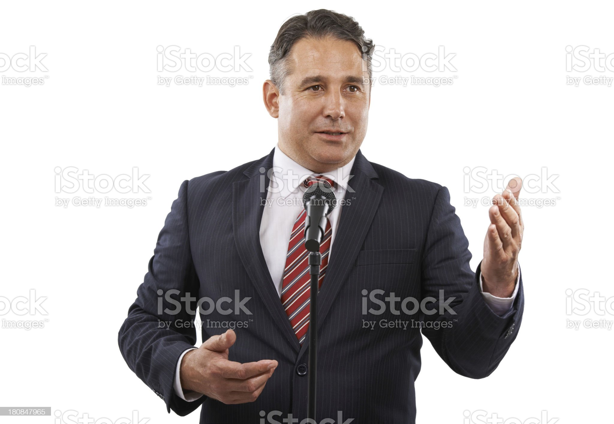 He's got a face you can trust royalty-free stock photo