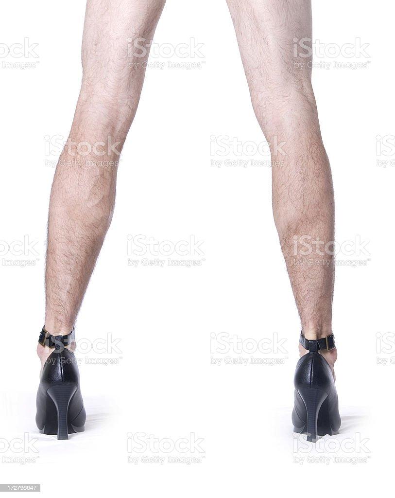 he's got legs stock photo