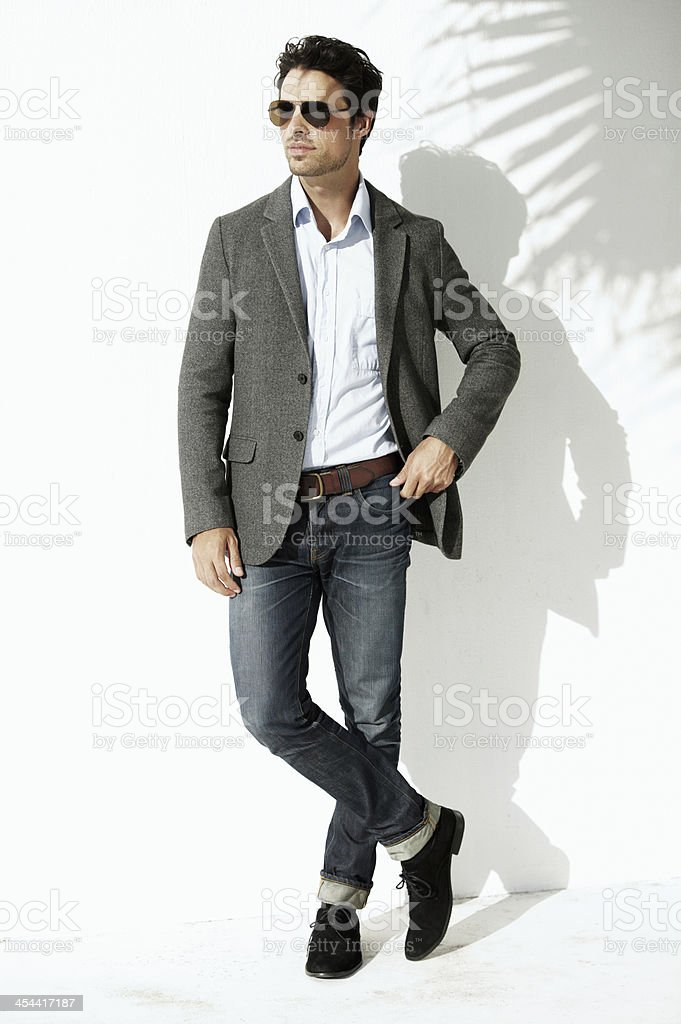 He's got style royalty-free stock photo
