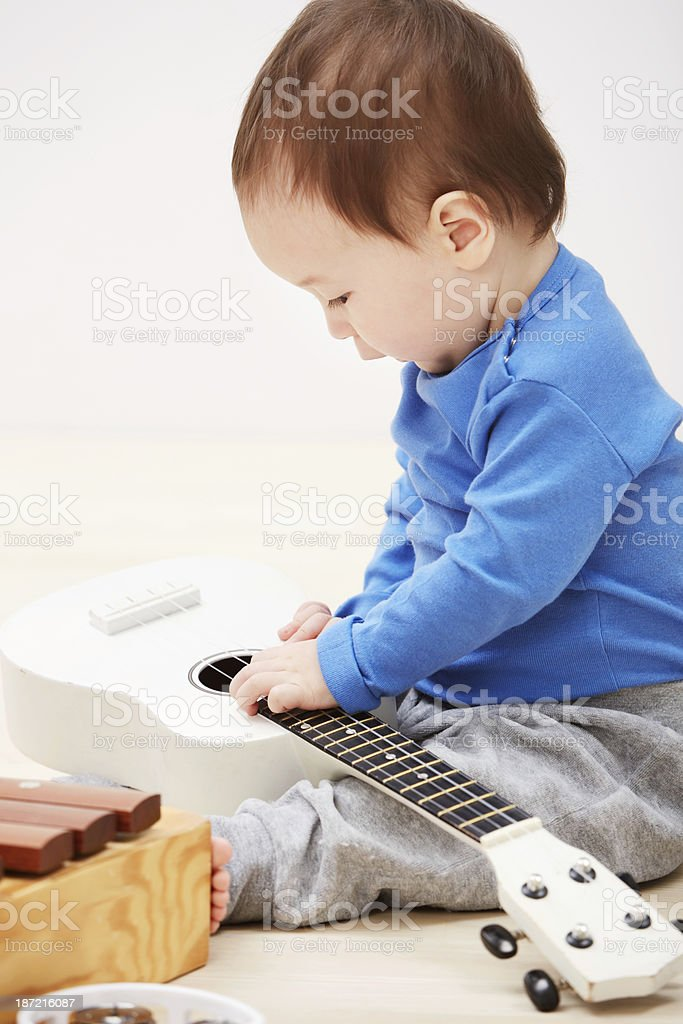 He's got the gift! royalty-free stock photo