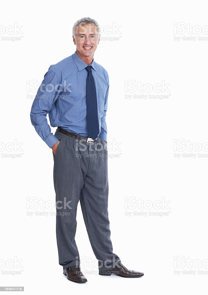 He's got the style royalty-free stock photo