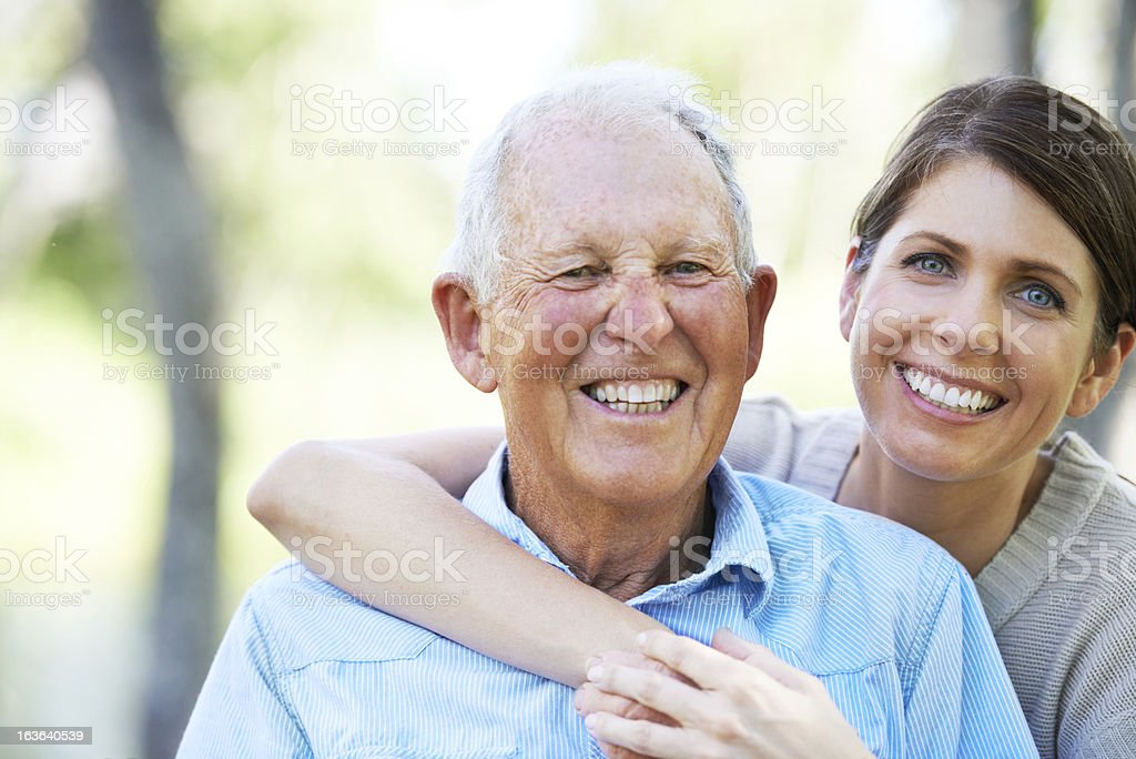 He's in great spirits stock photo