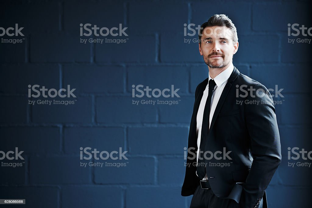He's inspired many with his success story stock photo