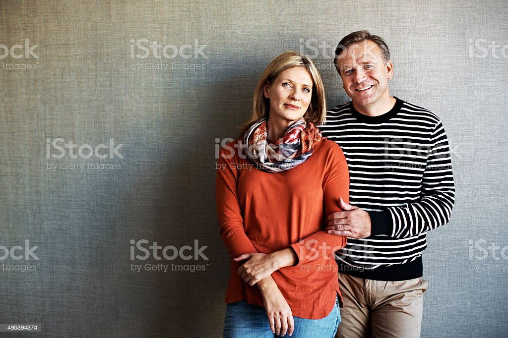 He's may one. And she's my only! stock photo