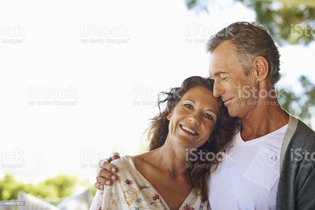 He's my number one! stock photo
