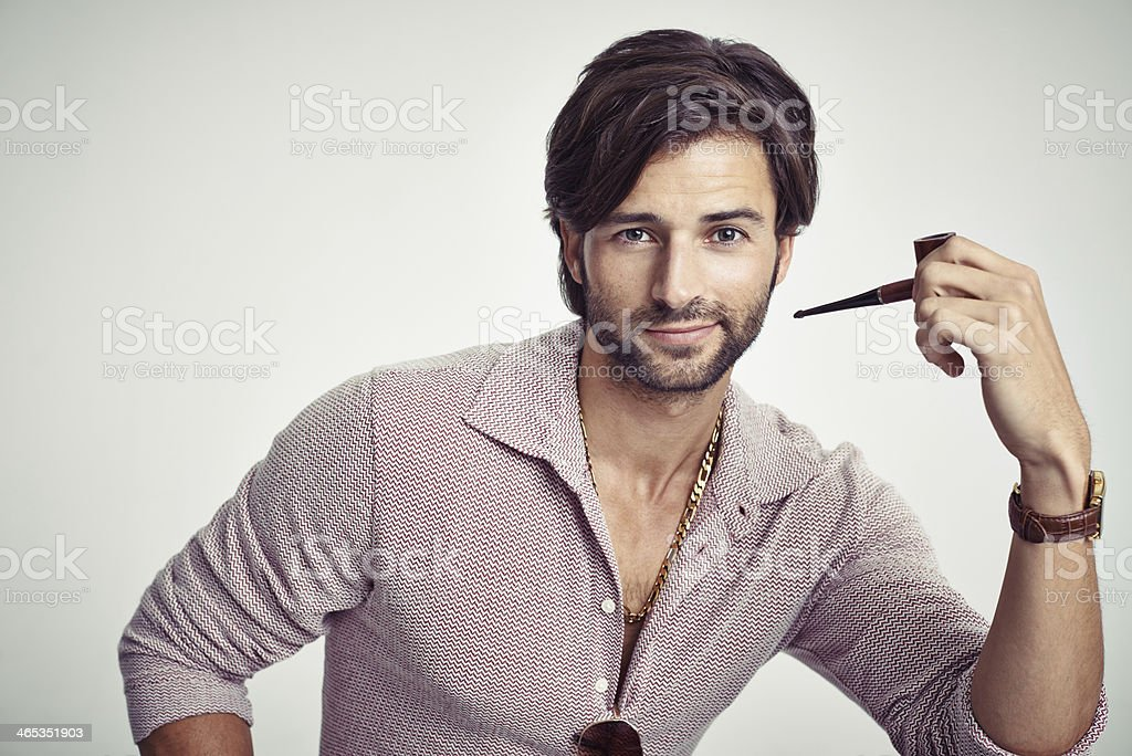 He's one groovy guy! royalty-free stock photo