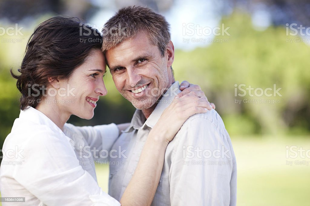He's perfect for her royalty-free stock photo