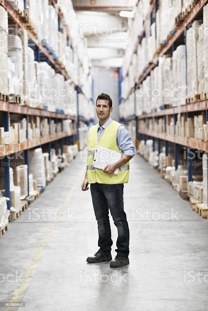 He's responsible for the stock stock photo