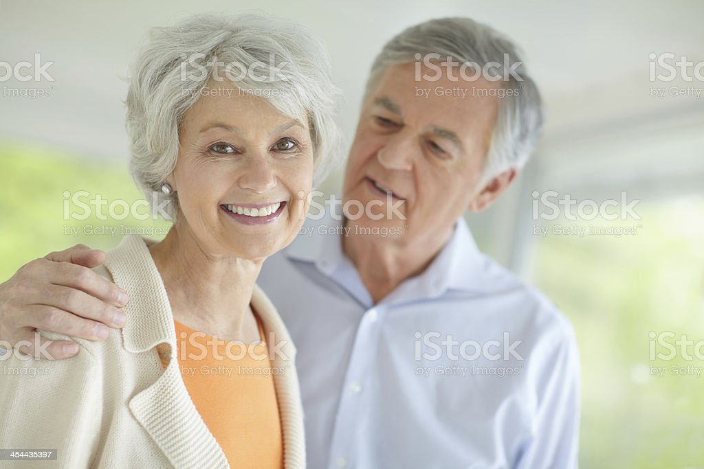 He's so affectionate and loving royalty-free stock photo