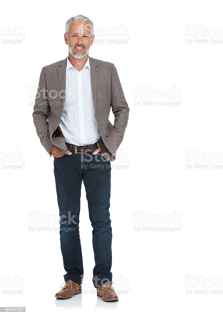 He's someone you can trust stock photo