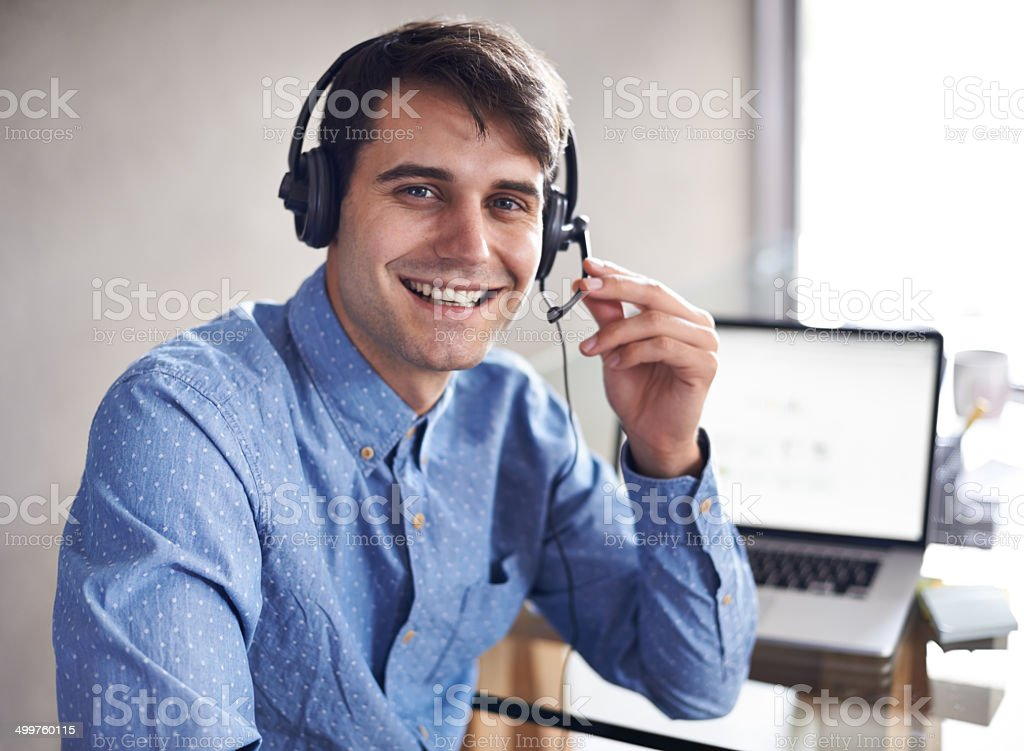 He's taking on multiple business roles at the moment stock photo