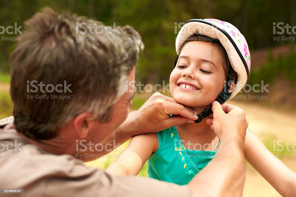 He's the best dad ever stock photo