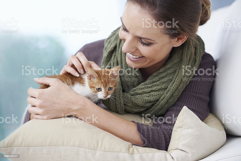He's too cute!!! stock photo