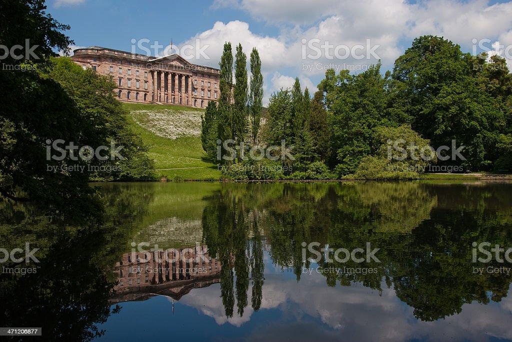 Hessen - Castle Wilhelmshöhe stock photo