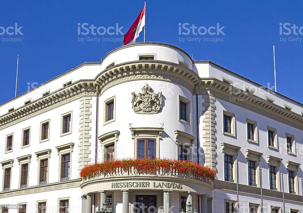 Hessian Parliament stock photo