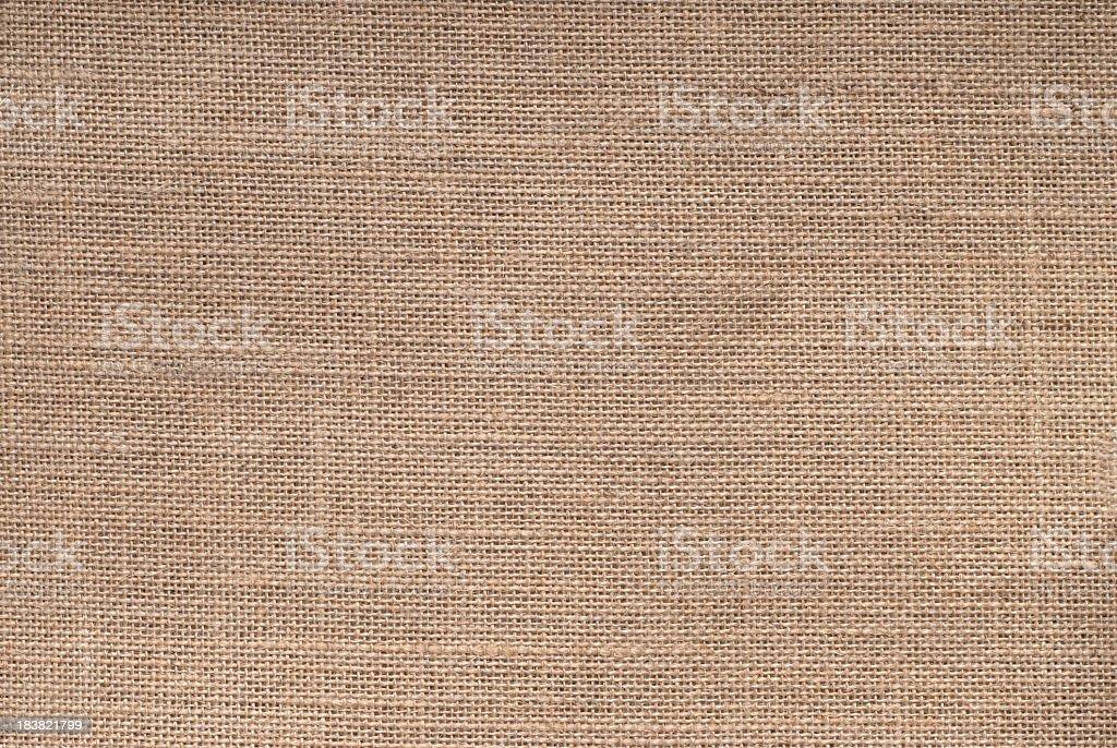 Hessian sack background stock photo