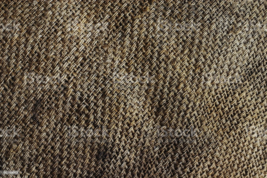 Hessian Texture royalty-free stock photo