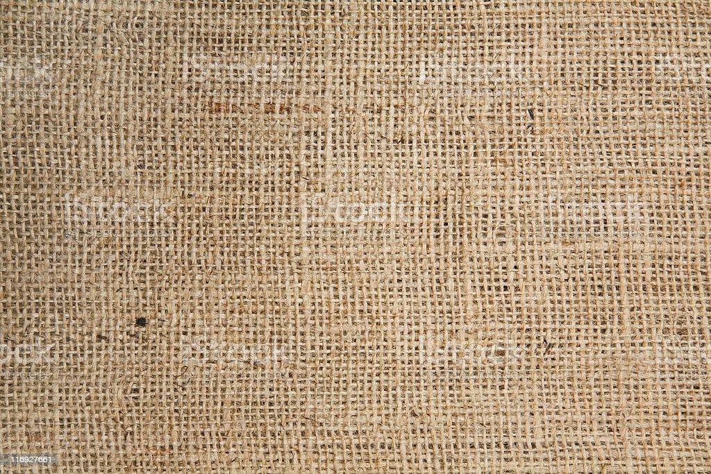 Hessian textured background stock photo