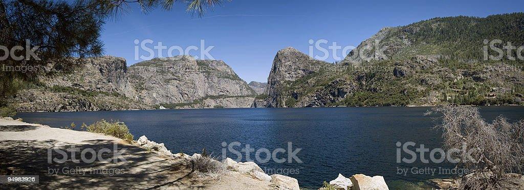 Hetch Hetchy Valley, Yosemite royalty-free stock photo